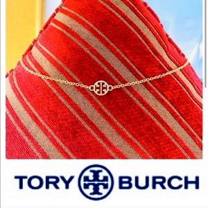 🆕❤️TORY BURCH AUTHENTIC CHARM ON CHOKER NECKLACE